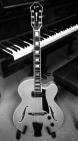 Guitar-Piano B&W