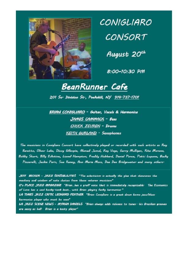 ConigliaroConsort BeanRunner 8-20-16